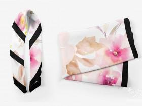逼真方形丝巾围巾头巾展示-PSD模板样机效果图百度网盘免费下载